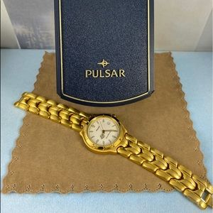 Fabulous 1990's A4 Pulsar Dress or Sport Watch